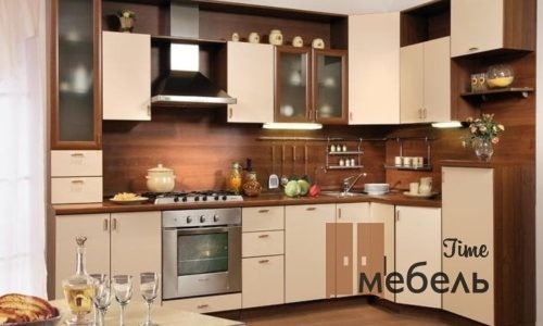 Угловые кухни от производителя в Москве