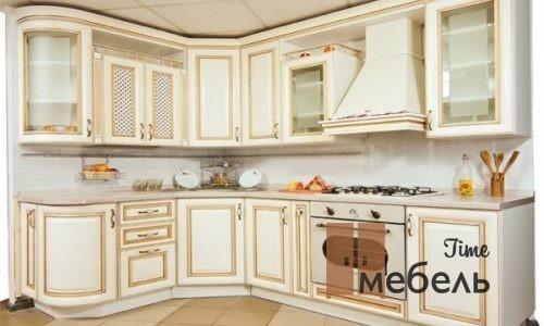 Кухни с патиной от производителя в Москве